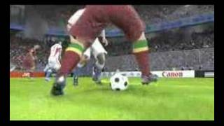 UEFA EURO 2008 football game trailer