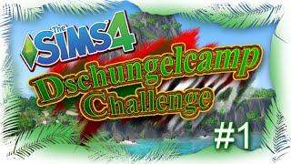 Die Sims 4 - Dschungelcamp Challenge - Teil 1 - Gemütlich am Lagerfeuer (HD/LetsPlay)