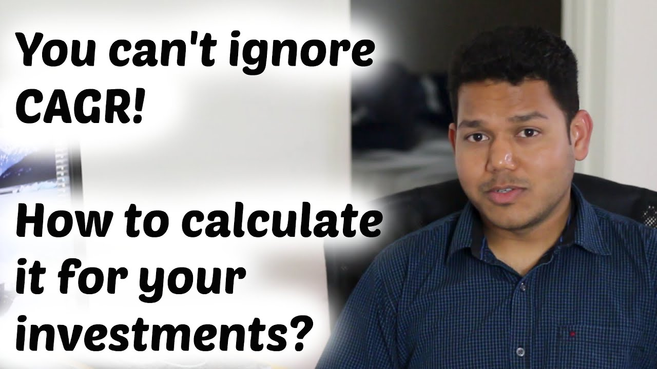 how to calculate cagr manually
