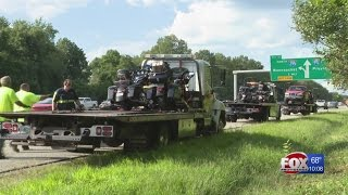 Police: 4 motorcycle club members arrested in Warwick