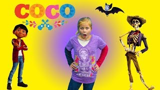 Coco Disney Pixar Surprise Tent With Paw Patrol + PJ Masks + Vampirina and Elena of Avalor Toys