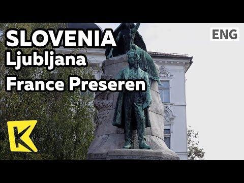 【K】Slovenia Travel-Ljubljana[슬로베니아 여행-류블랴나]시인 프란체/France Preseren/Julia Primic/Preseren Square/Kranj