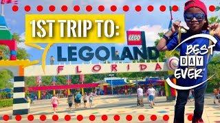 LEGOLAND ADVENTURE!: 1st Trip to LEGOland Florida, Best Day Ever!!!