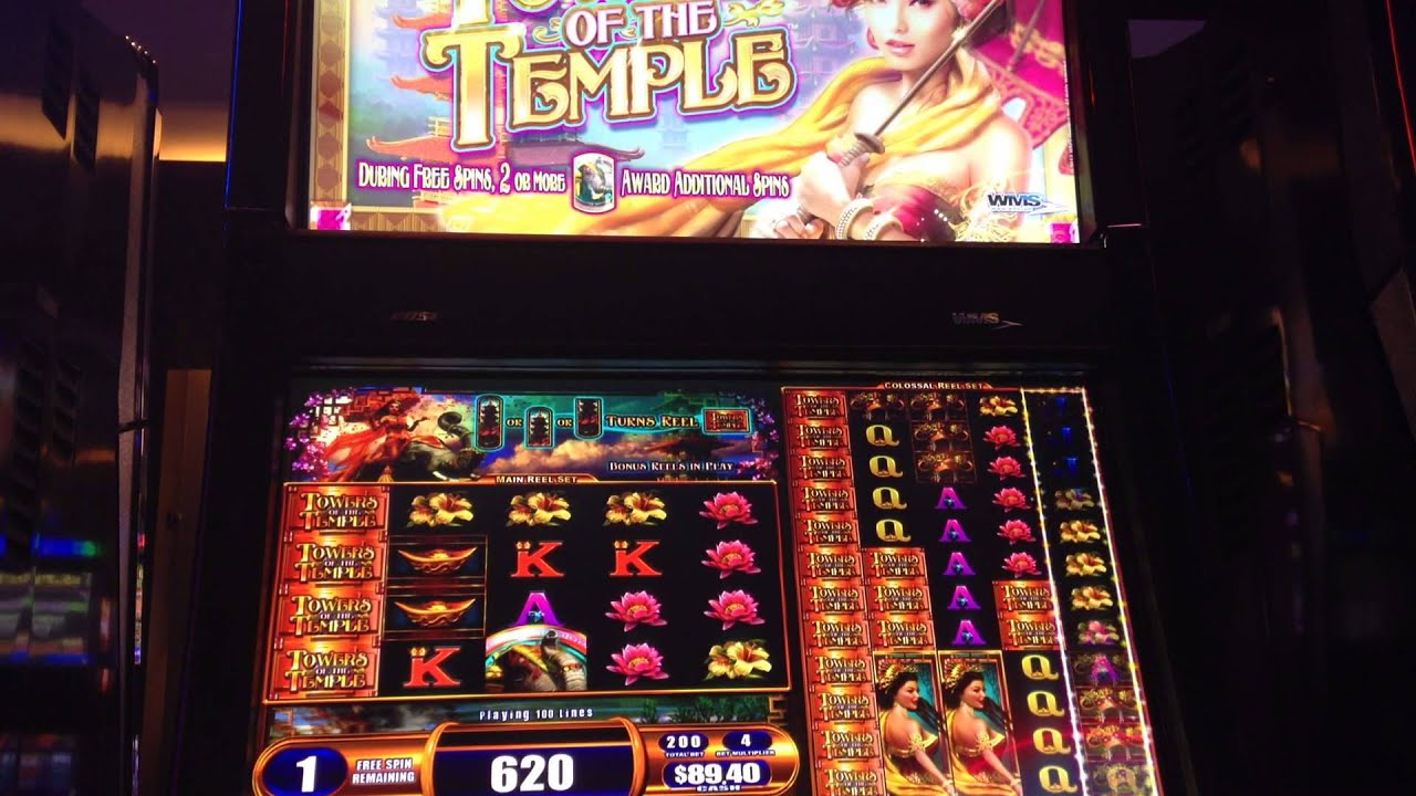 towers of the temple slot machine