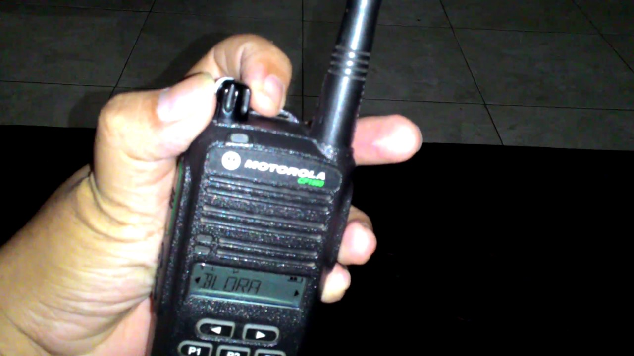 Review Ulasan Singkat Ht Motorola Cp1660 Vhf Indonesia Youtube Handy Talky Cp1300