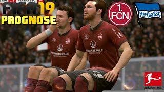 FIFA 19 PROGNOSE [#19] ⚽ 1.FC Nürnberg vs. Hertha BSC, 18. Spieltag | Let