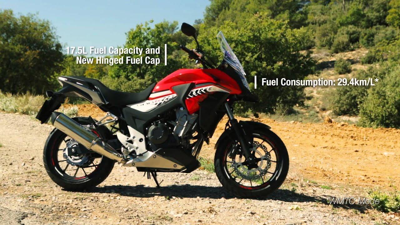 2016 Honda CB500X Motorcycle - YouTube