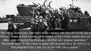 Franklin D  Roosevelt-D Day Prayer