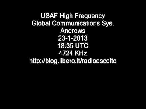 USAF HIGH FREQUENCY GLOBAL COMMUNICATION SYSTEM ANDREWS