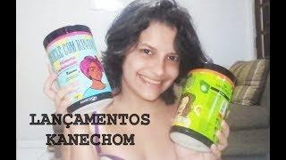 LANÇAMENTOS KANECHOM (Chicle com Banana, Vitaminada de Abacate e Coco Bom)