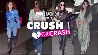 Crush Or Crash: Airport Looks - Episode 31 - POPxo Fashion