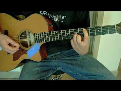 Foo Fighters Everlong Guitar Lesson