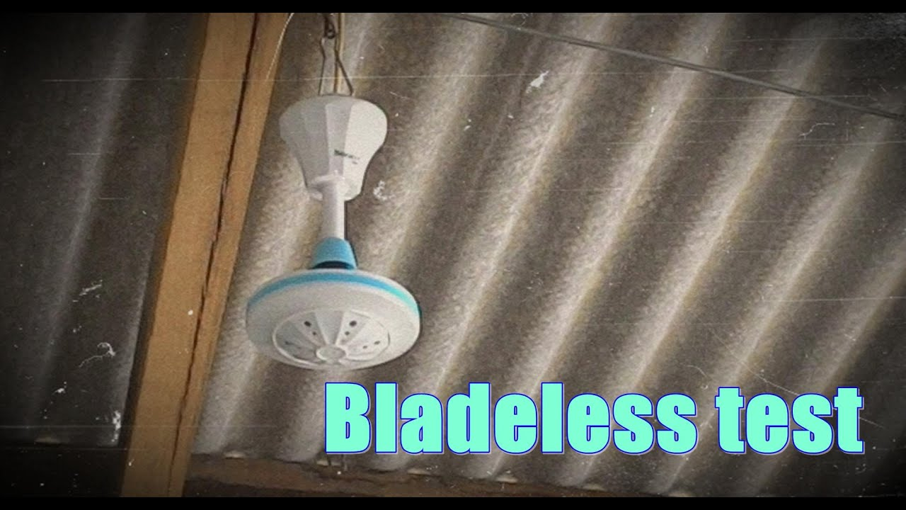 Bright G mini ceiling fan bladeless test
