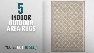 Top 10 Indoor Outdoor Area Rugs [2018 ]: Safavieh Amherst Collection AMT422S Wheat and Beige Indoor/