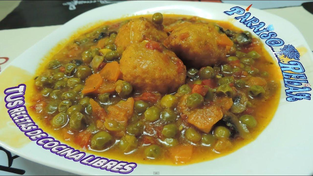 Albondigas en salsa recetas de cocina libre dieta for Comidas sencillas
