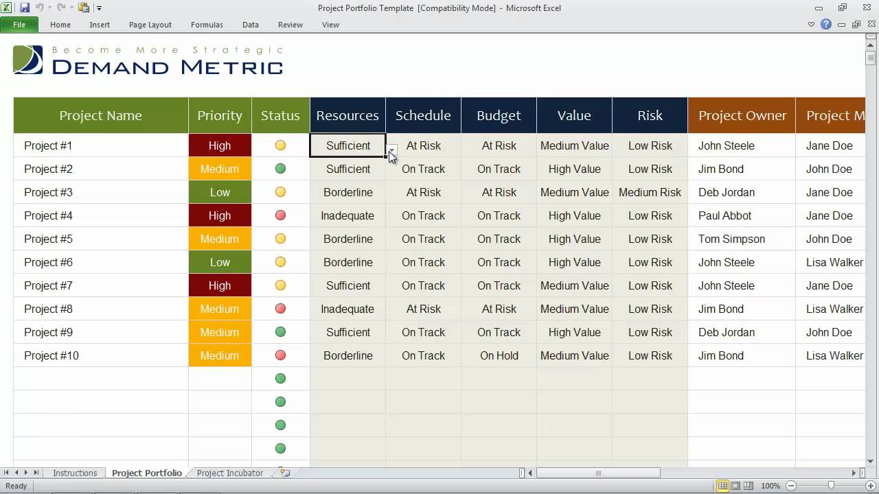 The best resource management software tools of application.