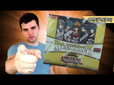 Best Yugioh GX Ra Yellow Mega Pack 1st Edition Box Opening! OH BABY!!