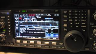 icom ic 7600 in psk31 cw ssb modes