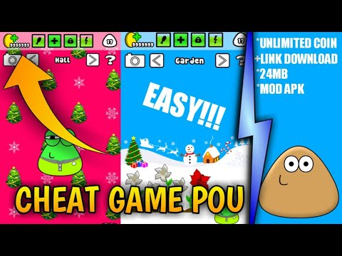 CARA CHEAT GAME POU DI ANDROID - UNLIMITED COIN