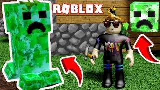 NEW! CREEPER CHAOS + MINECRAFT | Creeper CHAOS Roblox