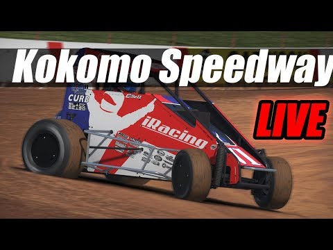 Midget Racing at Kokomo Speedway then Street Stocks at Charlotte - iRacing