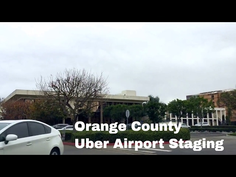 John Wayne Airport Staging Area For Uber