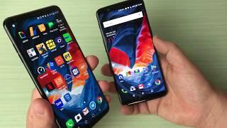 LG V30 vs OnePlus 5T, stessa anima ma prezzo diverso