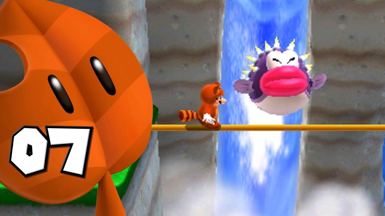 Super Mario 3D Land - Part 7 | Big Bertha - YouTube
