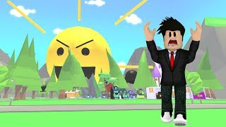 DON'T LOOK at the SCARY SUN in the ADOPT ME (Roblox)