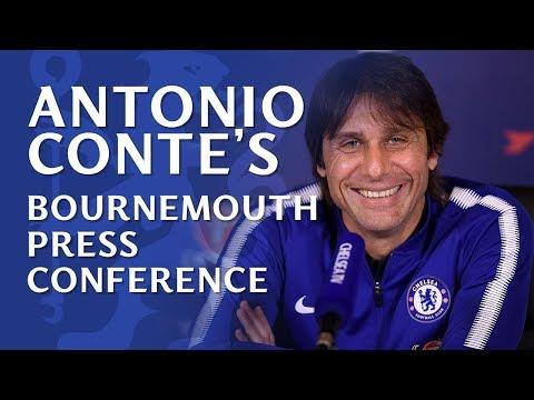 Antonio Conte Press Conference | Chelsea v Bournemouth