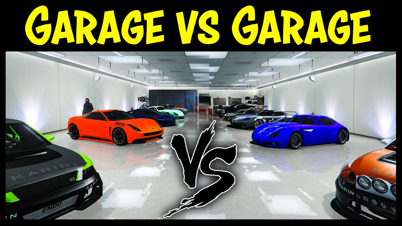 Gta 5 online garage vs garage ep 15 best cars for Top garage vitrolles
