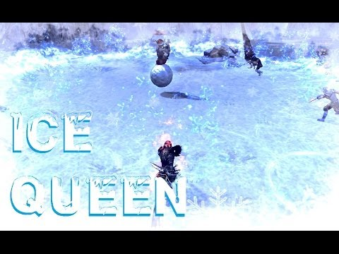 RaiderZ Online Gameplay – Ice Queen Lv 40 Boss Fight