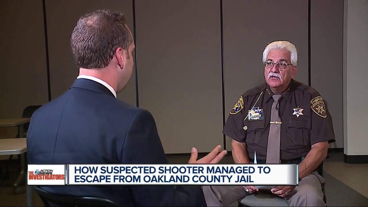 Oakland County Undersheriff responds to video of suspect escape