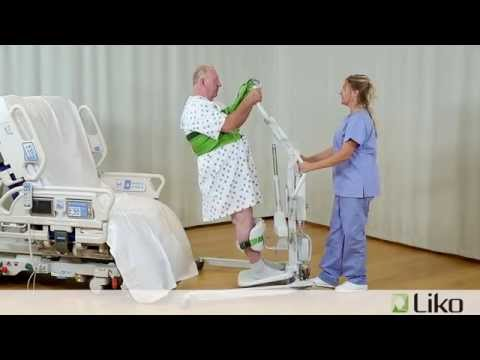 Hill-Rom | Liko® Lifts Slings | Sit-to-Stand from YouTube · Duration:  3 minutes 44 seconds