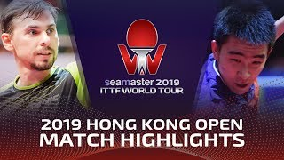 Кирилл Скачков vs Ma Te | Hong Kong Open 2019 (Pre)