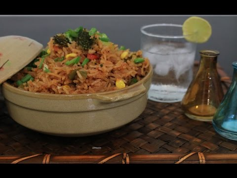 Spicy Vegetarian Mexican Rice