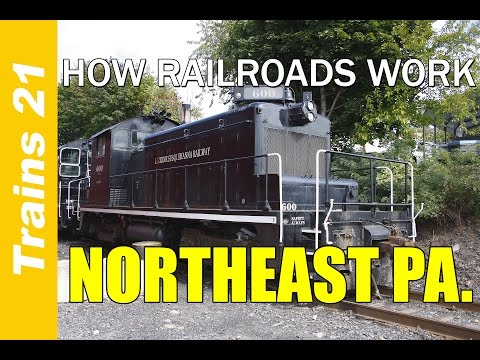 HOW RAILROADS WORK Ep. 2: Northeast Pennsylvania