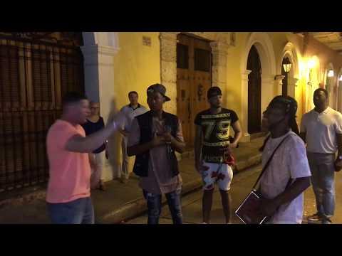 Shane Hunter - Cartagena, Colombia Freestyle Street Rap 1