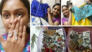 Wednesday Vlog  || Shopping For Festival || Earrings Collection || Decluttering My Makeup