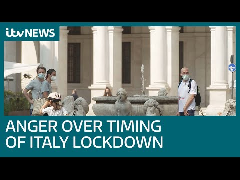 Covid-19: Did coronavirus lockdown in Italy start early enough? | ITV News