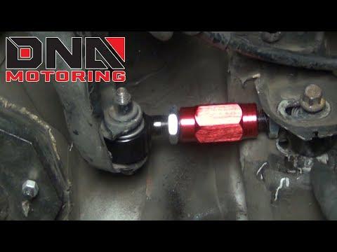 How to Install 88-00 Honda Civic/93-97 Del Sol/Integra Rear Camber Kit