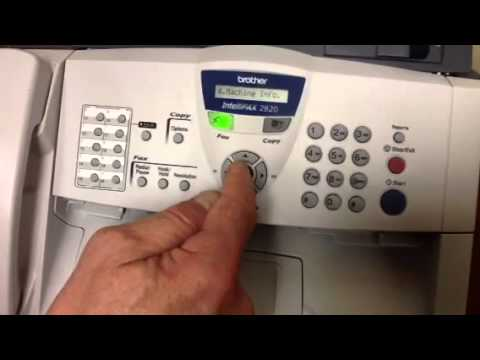 brother intellifax 2820 youtube rh youtube com brother fax 2820 parts manual brother fax 2820 manual pdf