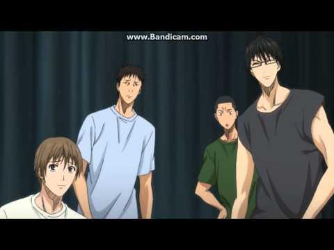 Kuroko no basket Aomine breaks the rim