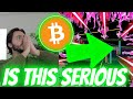 IS THIS REAL?? - WHY BITCOIN JUST INITITIATED A JAW-DROPPING MEGA MOVE