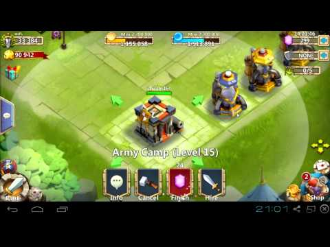 #075 6th Hero Base - How Long??? - Castle Clash