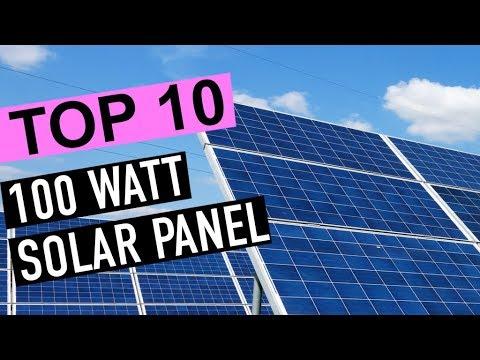 Best 10: 100 Watt Solar Panels 2019