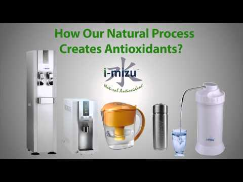 The Most Powerful Antioxidant Hydrogen-Rich Alkaline Water by i-Mizu
