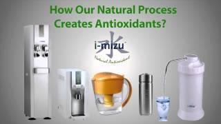 The Most Powerful Antioxidant Hydrogen-Rich Alkaline Water by i-Mizu