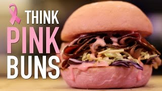 Think Pink Buns - Breast Cancer Awareness