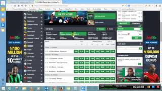 How to Book Bet on Bet9ja.com